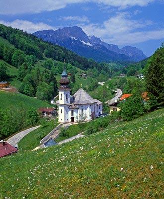 Maria Gern Church, Bavaria, Germany