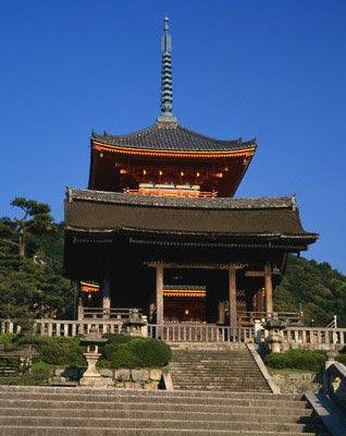 Kiyomizu Temple, Kyoto, Kinki region, Japan