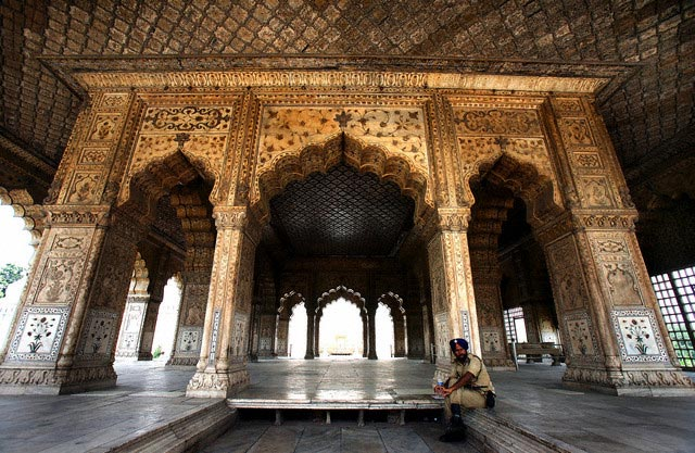 India - UNESCO world heritage site - 'Lal Qil