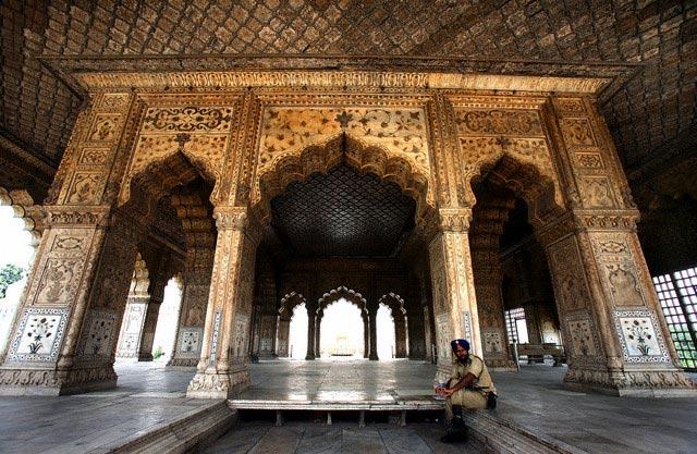 India - UNESCO world heritage site - 'Lal Qil