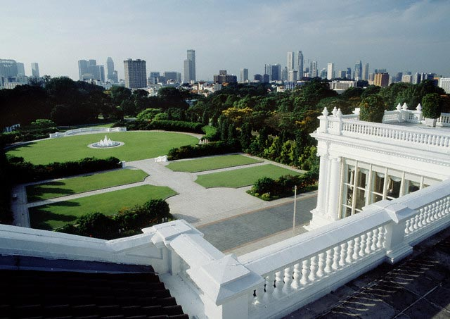 View of Istana in Singapore