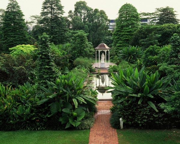 Garden of Istana in Singapore