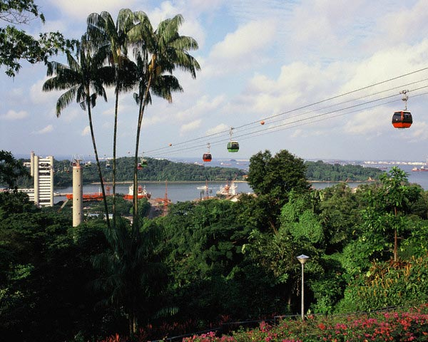 Cable Cars in Singapore