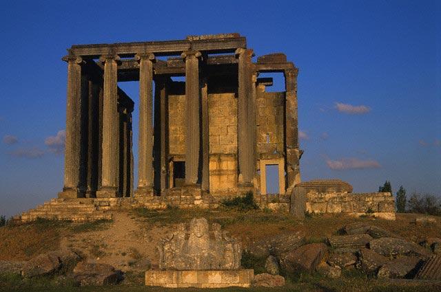 Temple of Zeus in Aizanoi