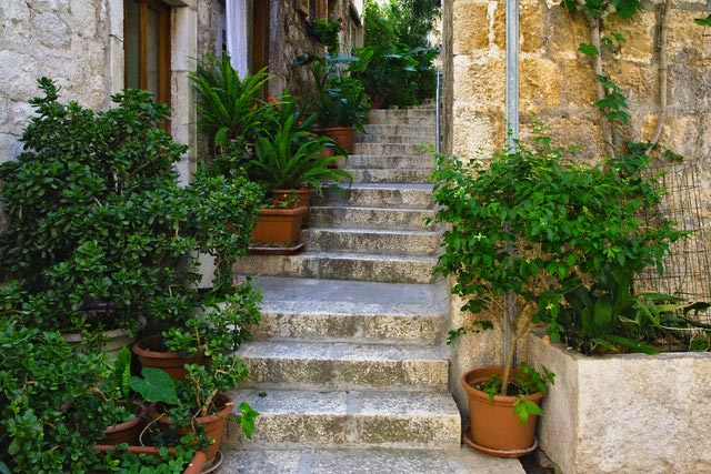 Stone Steps in Hvar