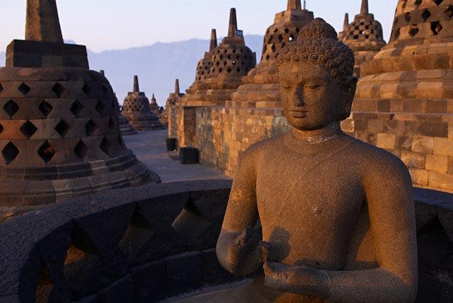 Borobodur Stupa and Mandalas