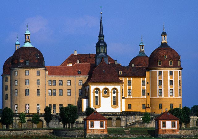 Castle in Moritzburg