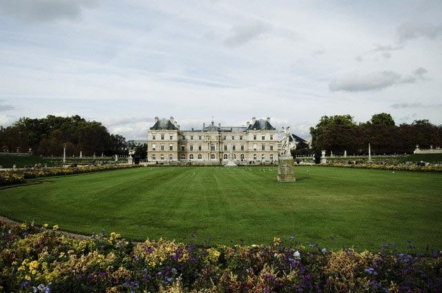 Le Palais du Luxembourg in Paris, France