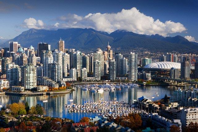 Coal Harbor in Vancouver