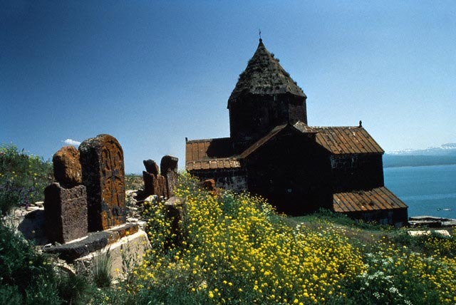 Sevan Lake Church in Armenia