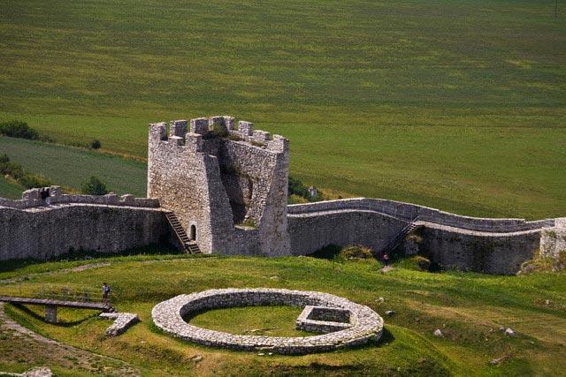 Slovakia, Spiss Castle, UNESCO World Heritage