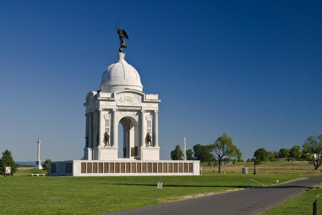 USA, Pennsylvania, Gettysburg, Cemetery Ridge