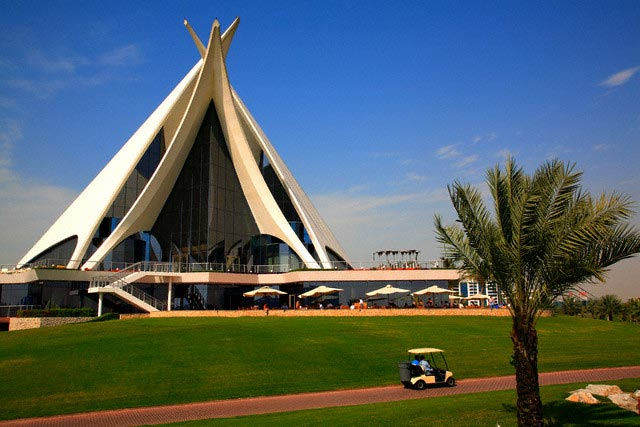 Club House on Dubai Creek Golf Course