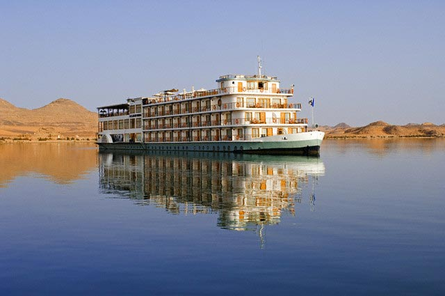 Qasr Ibrim Cruise Ship on Lake Nasser