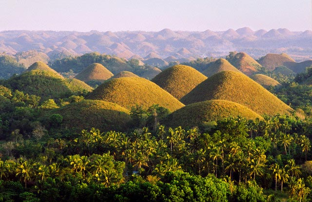 Chocolate Hills of Bohol Island