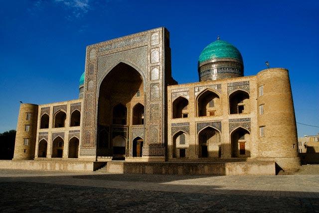 Mir-i-Arab Madrasa in Boukhara