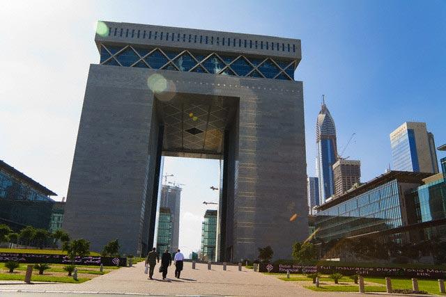 Arch Building in Dubai
