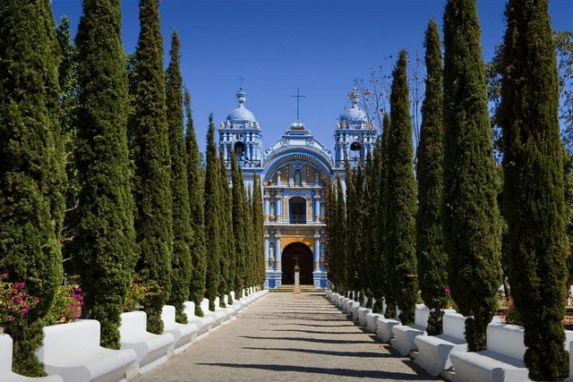Promenade Leading to Church of Santo Domingo