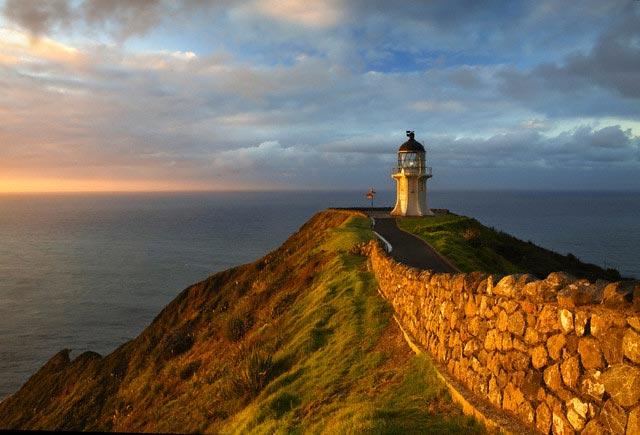 Aupori Peninsula, Cape Reinga lighthouse