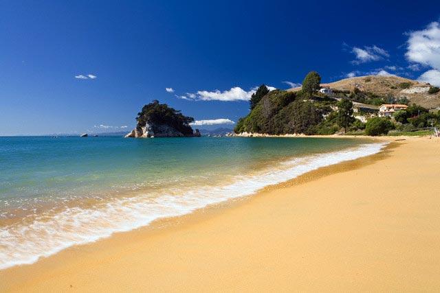 Nelson region, Keiteriteri beach