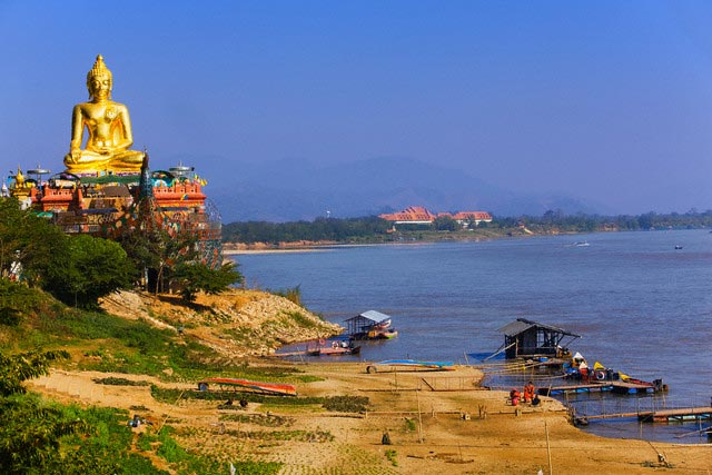 Mekong River at Sop Ruak