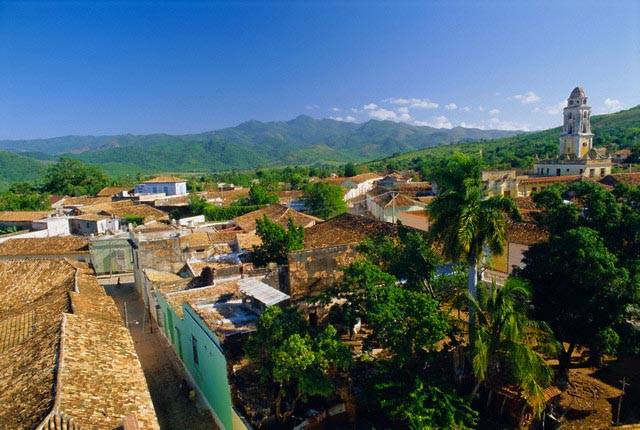 The Roofs of Trinidad, Cuba