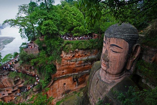 Grand Buddha at Leshan