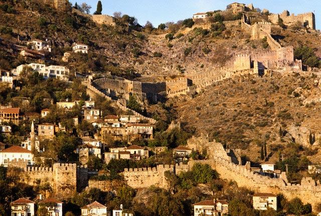 City Walls of Alanya in Turkey