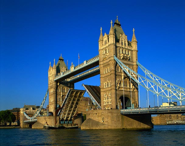 Tower Bridge and Thames River