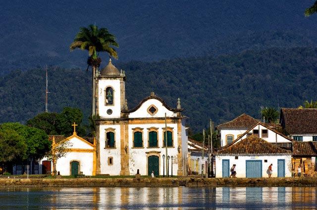 Brazil, Rio de Janeiro state, Paraty, Santa R