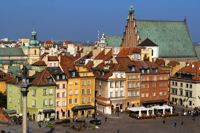 Poland, Mazovia Region, Warsaw, Stare Miasto,