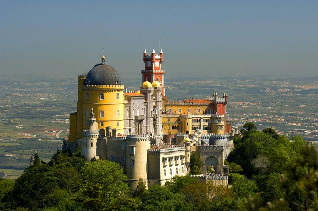 Portugal, Centro Region, Sintra, Pena Nationa