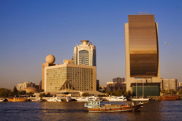 United Arab Emirates, Dubai, Dubai Creek, mer