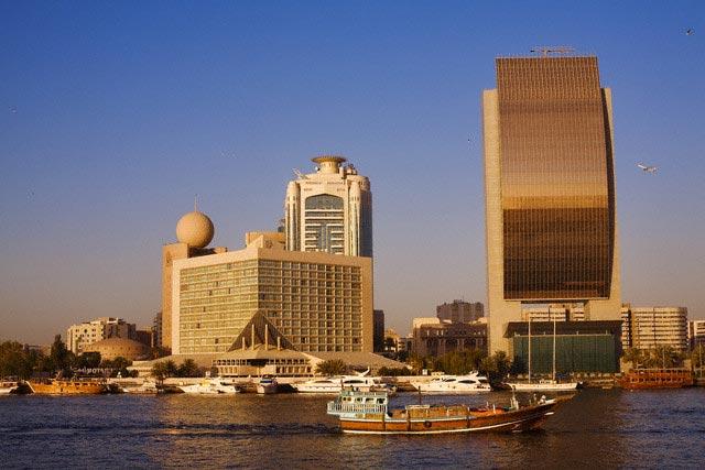 United Arab Emirates, Dubai, Dubai Creek, mer