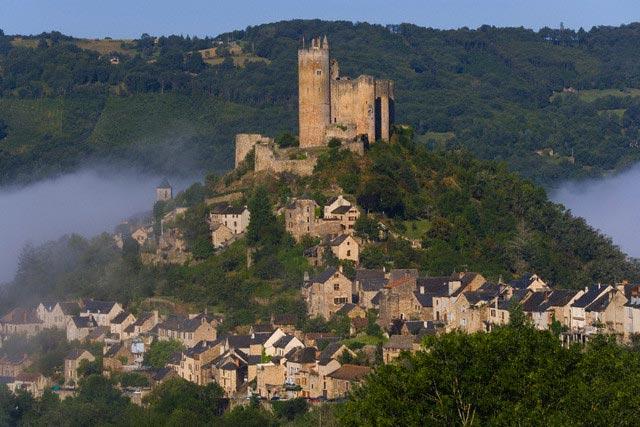 Najac village & casle, Aveyron, Midi-Pyrenees