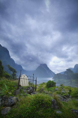 Isolated Grave by Milford Sound