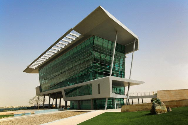 Formula One Racing Headquarters Building in D