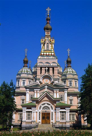 Zenkov Cathedral, 1904, made of wood with no