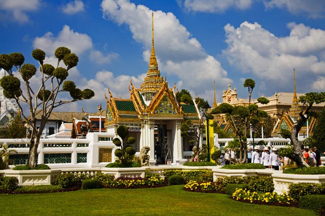 Aphorn Phimok Prasat Pavilion at Grand Palace