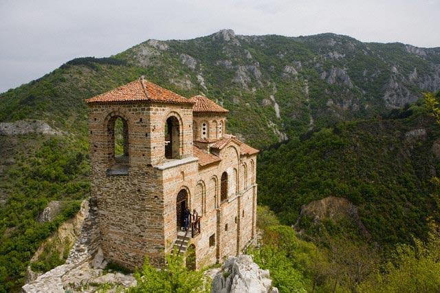 Asen's Fortress at Asenovgrad in Bulgaria