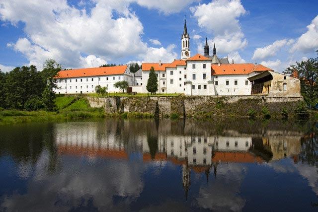 Vyssi Brod Monastery on the Vltava River