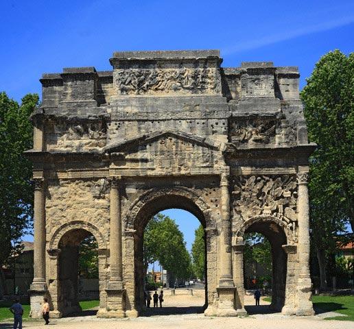 Roman Triumphal Arch, UNESCO World Heritage S
