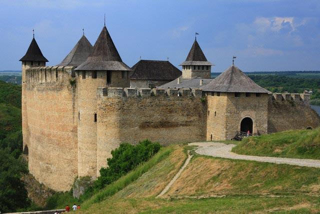 Khotyn fortress, Dniester river, Chernivtsi o