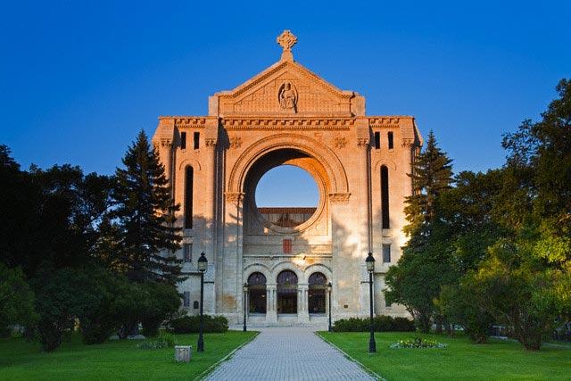 St. Boniface Cathedral, Winnipeg, Manitoba, C
