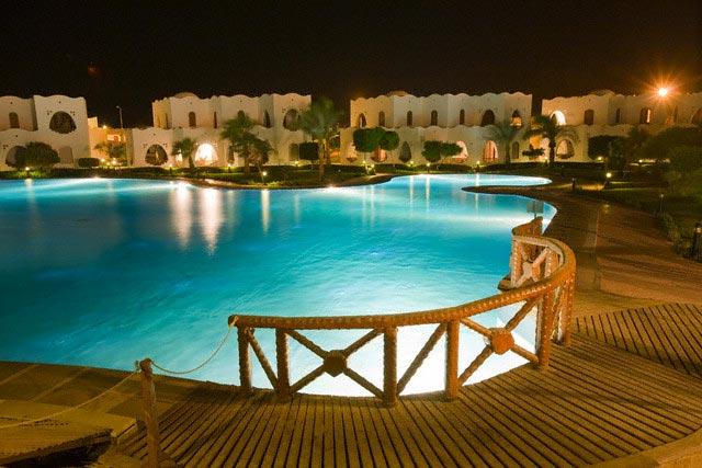 Swimming Pool at Dahab Hilton Hotel