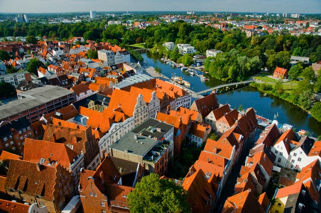 Lubeck Rooftops