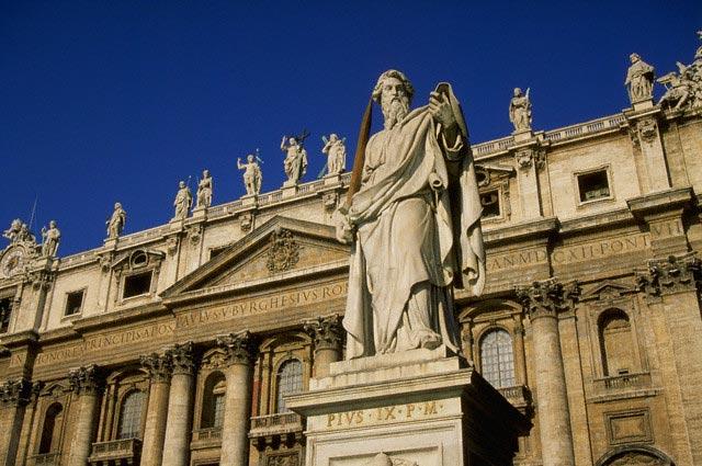 St. Peter's Basilica in Vatican City