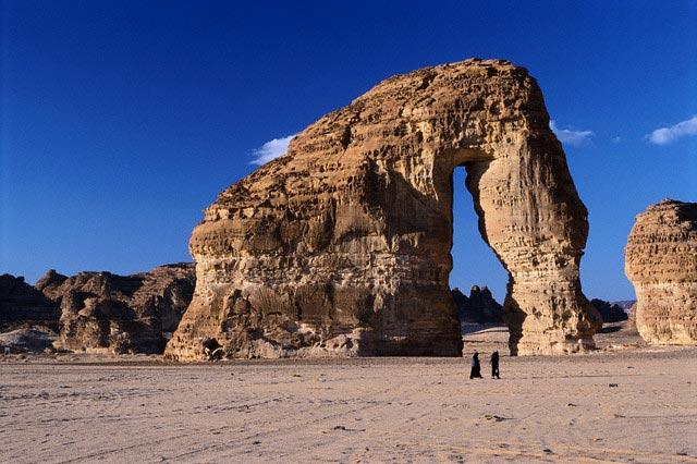 Elephant Rock in Saudi Arabia