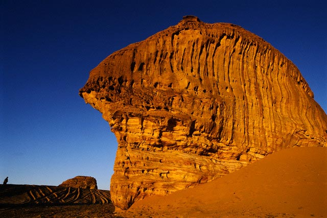 Red Sandstone Formations in Saudi Arabia