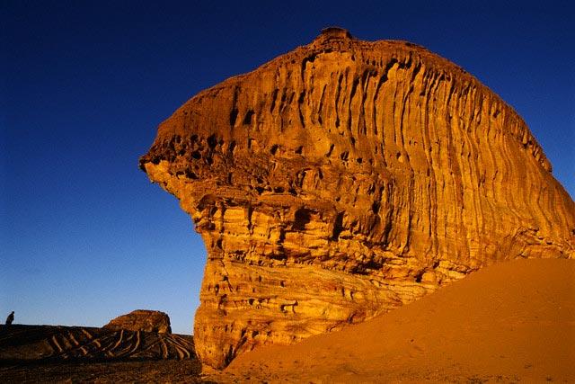 Red Sandstone Formations in Saudi Arabia